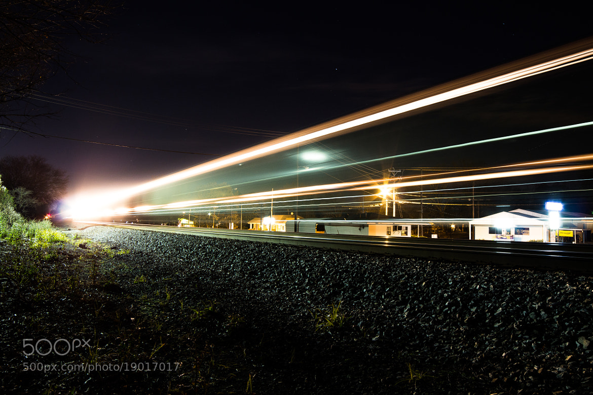 Photograph Late Night Train by David Swan on 500px