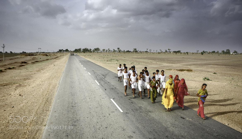 Photograph Pilgrims by Jesús Sánchez Ibáñez on 500px