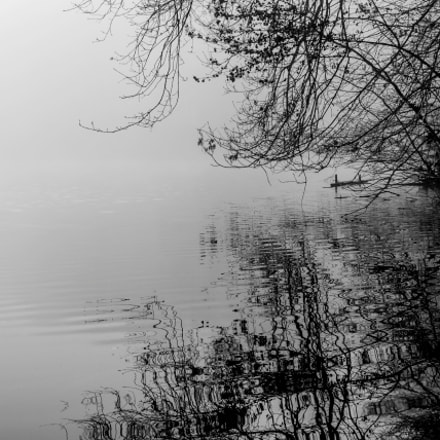 Black And Withe Lake