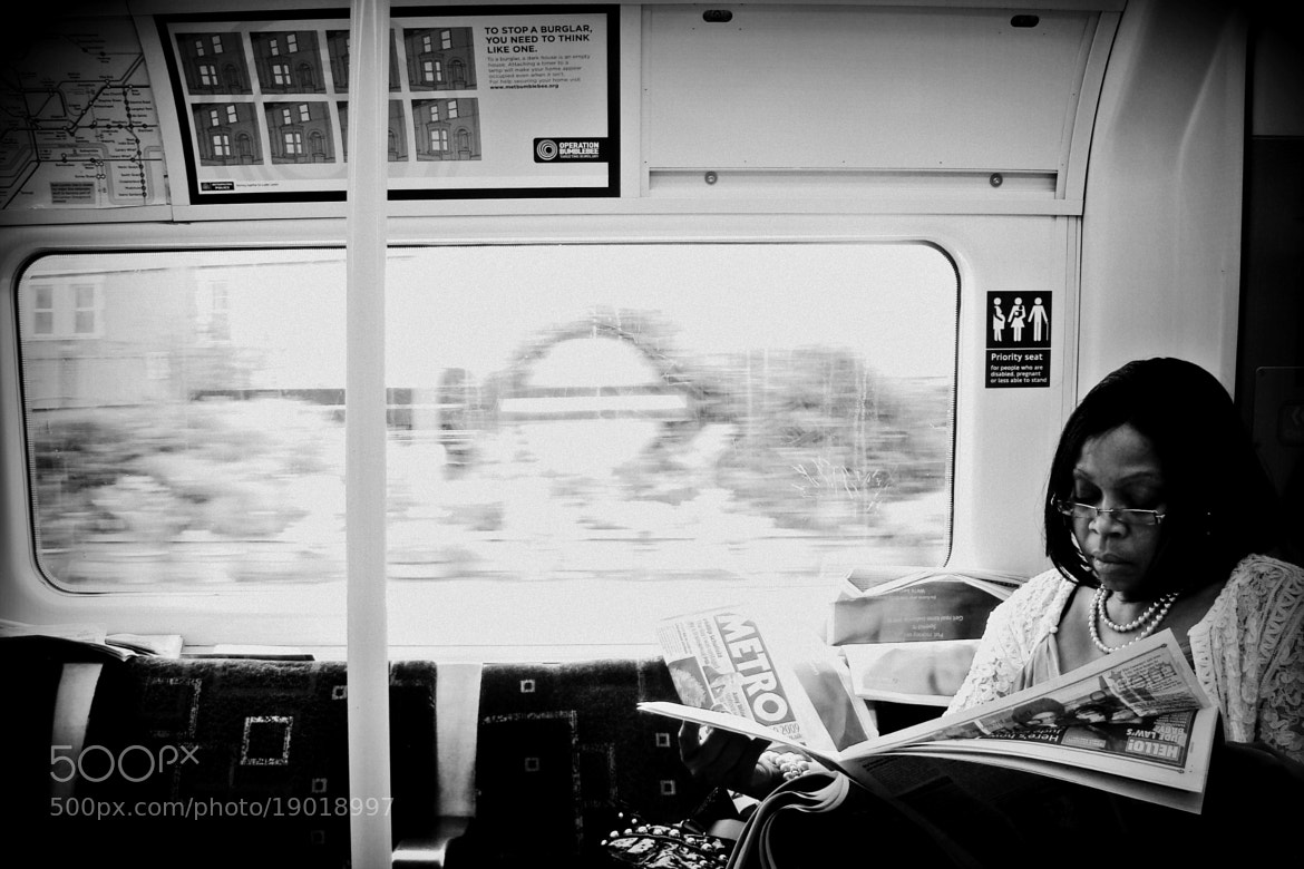 Photograph Metro Reader by Mojca Savicki on 500px