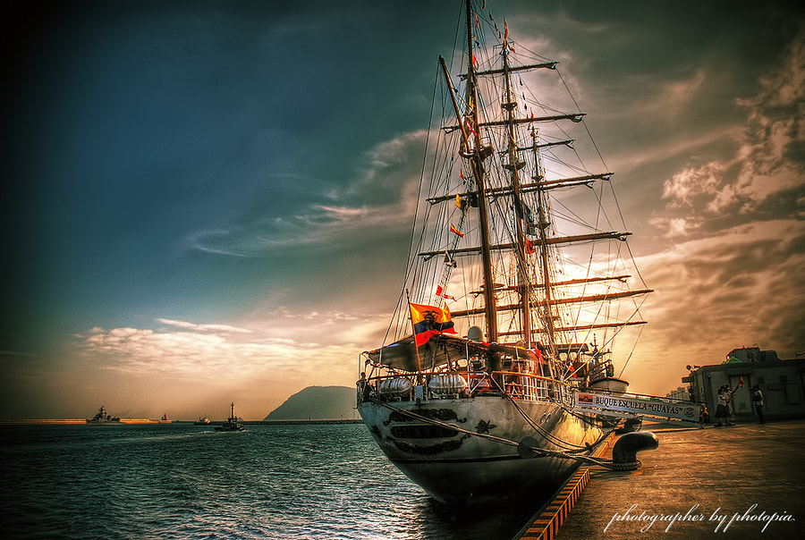 Photograph #.sailing ship by LEE GEON on 500px