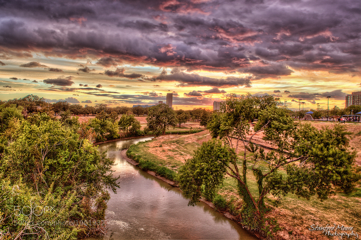 Photograph Houston Sunset 9-3-2011 by Stanford  Moore on 500px