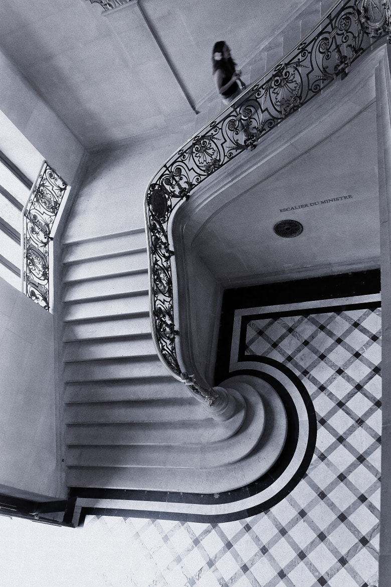 Photograph ESCALIER DU MINISTRE by Miguel Silva on 500px