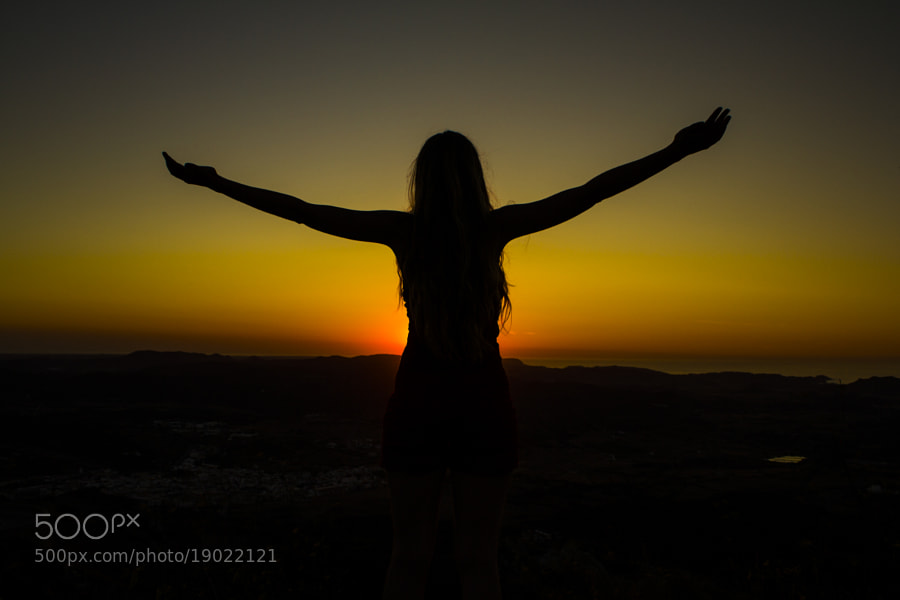 Photograph Leire on the top of Menorca by Mikel Zorrilla on 500px