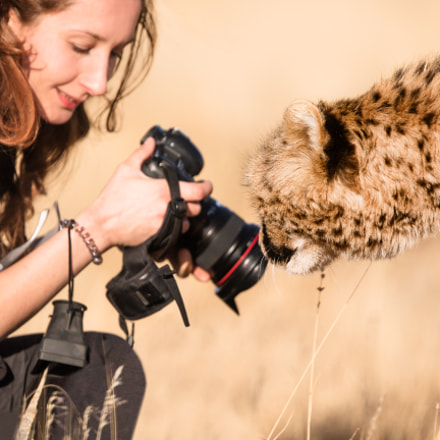 Photographer in action, Canon EOS-1D X, Canon EF 400mm f/4 DO IS