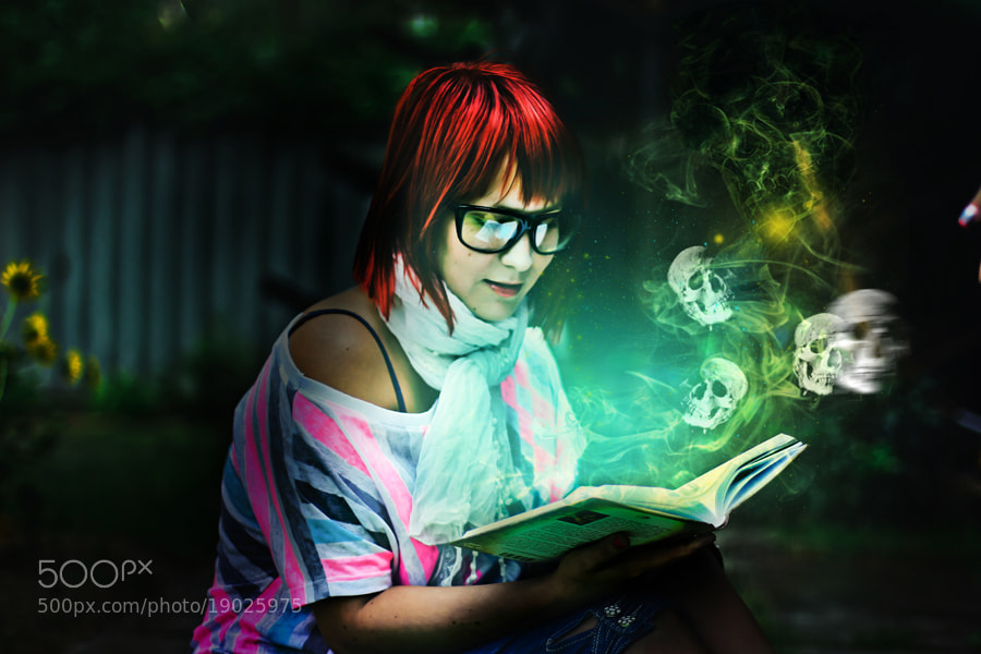 Photograph magic book by Gabriella Totyik on 500px