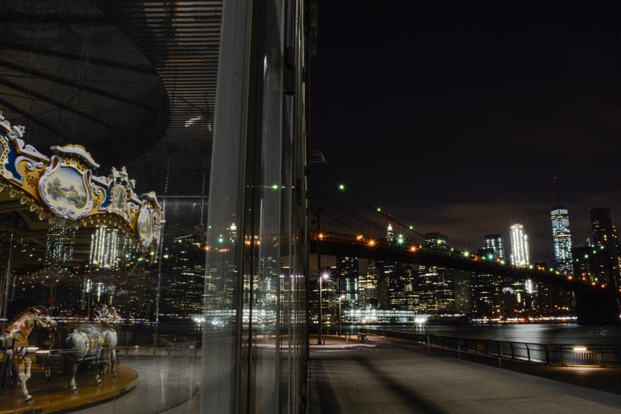 City reflection by Oleg Vasilevitsky on 500px.com