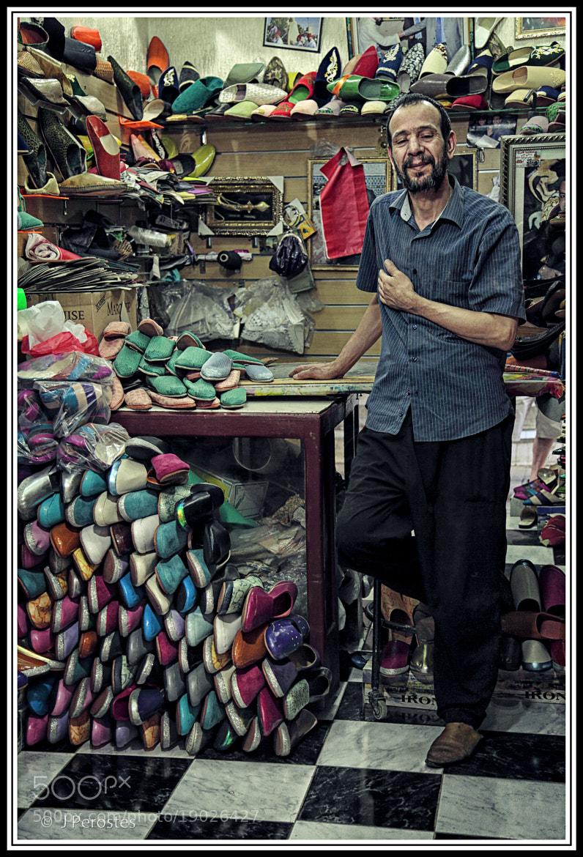 Photograph shoemaker ,Fez (Morocco) by Josep Mª Perostes on 500px