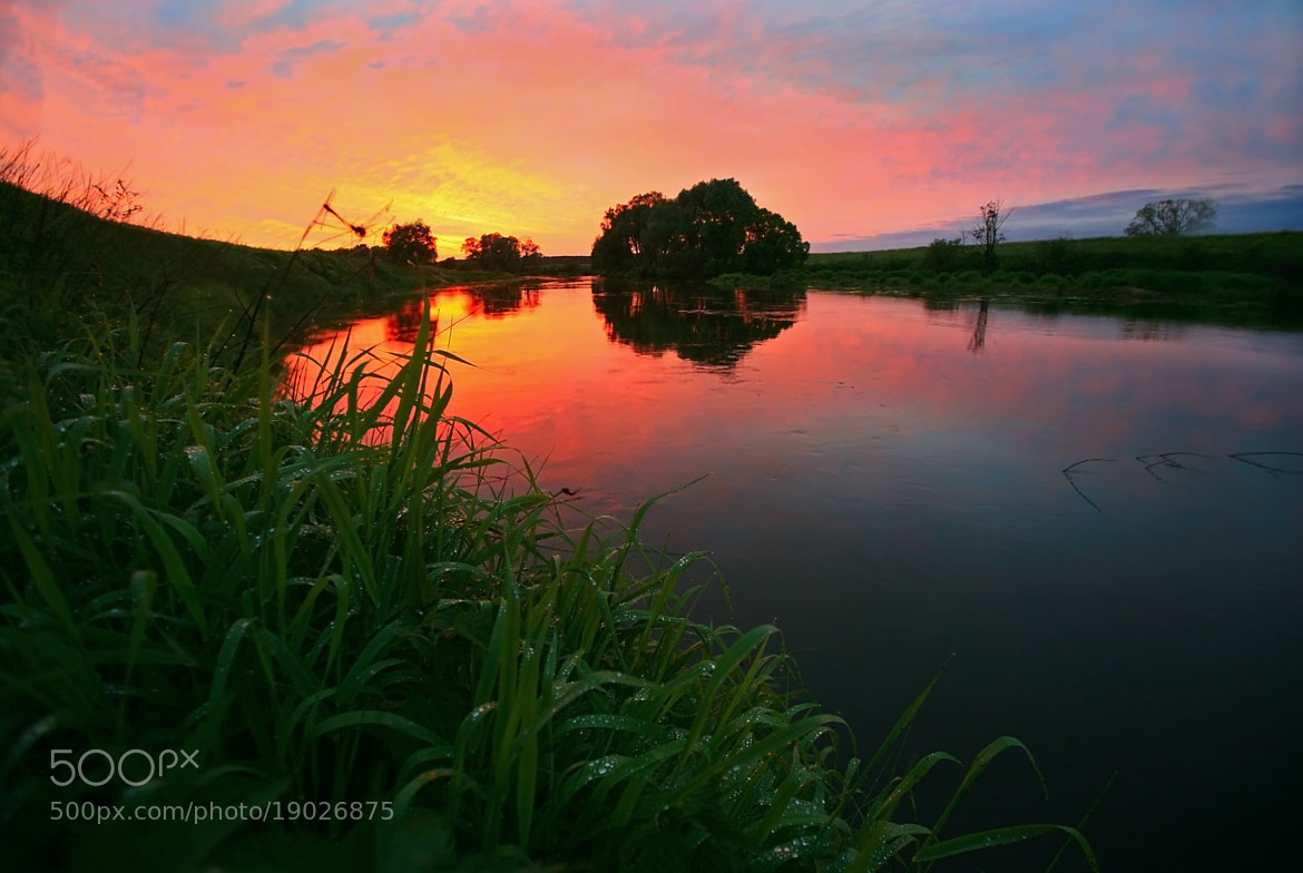 Photograph Sunset on Protva-river, Russia by  Catuncia on 500px