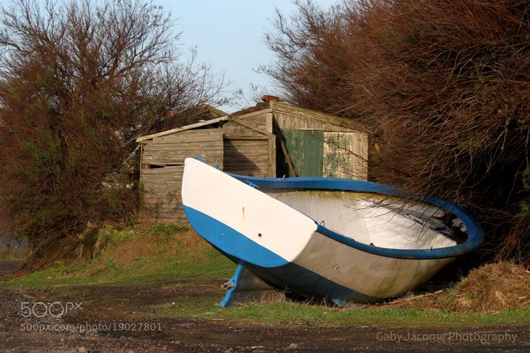 Photograph Boat on land by Gabriela Jácome Correia on 500px