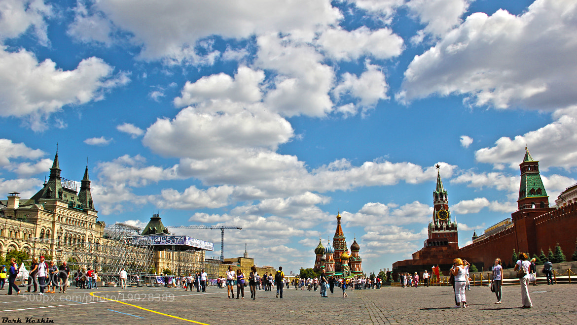 Photograph Moscow Red Square .. by Berk Keskin on 500px