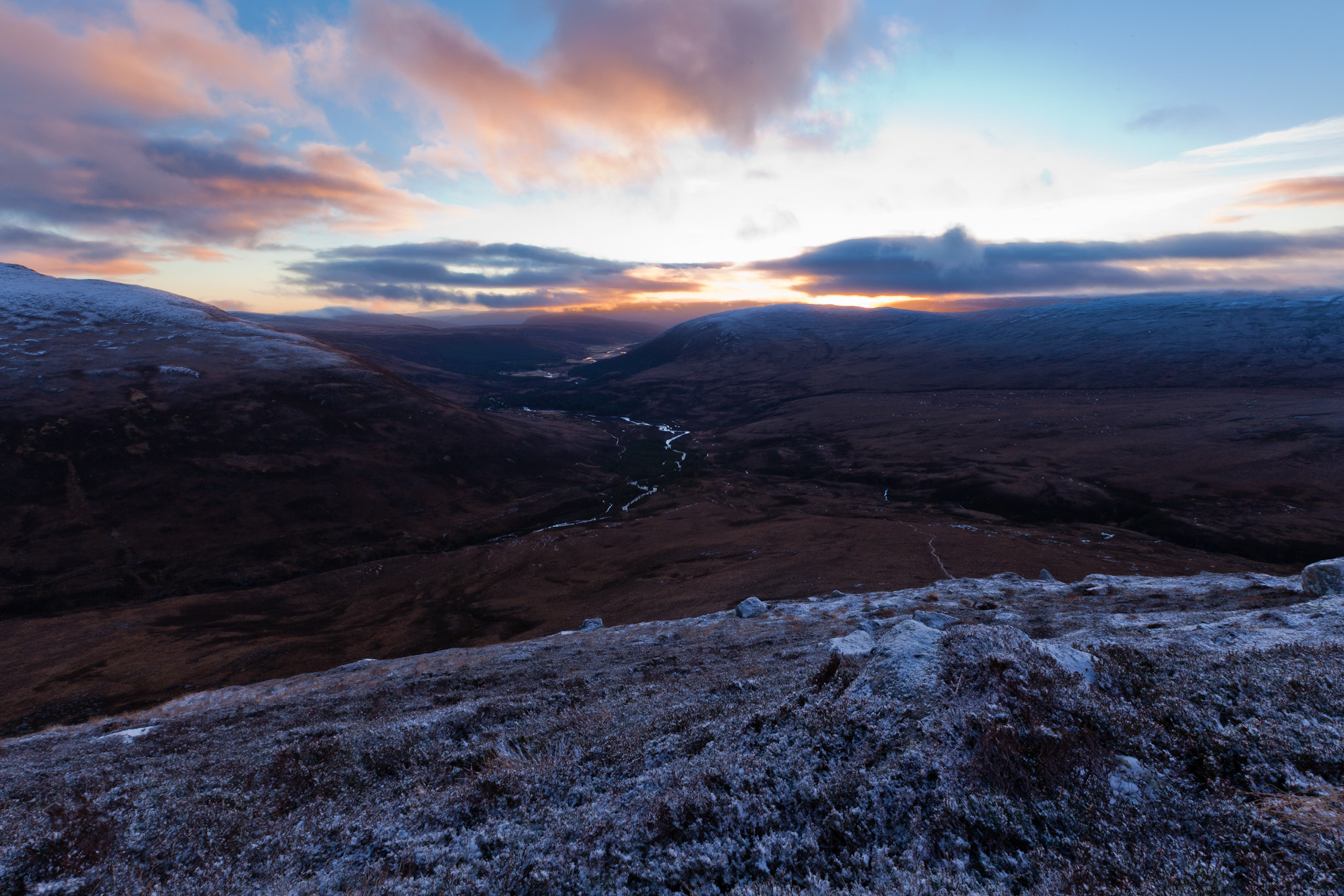 Photograph Sunrise on the Cairngorms by Matthew Hellewell on 500px