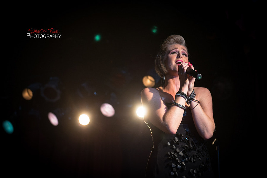Singing Her Heart Out
