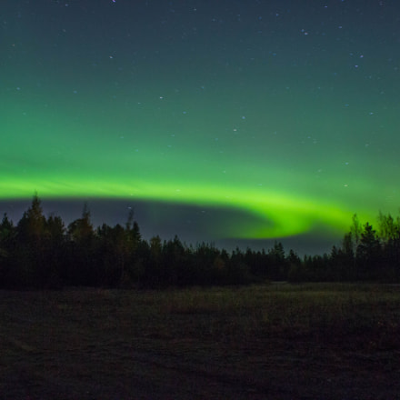 Northern lights in Haukipudas