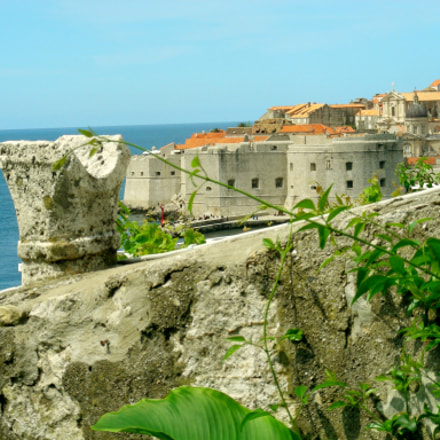 Dubrovnik view of the, Nikon COOLPIX S10