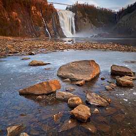 Montmorency Falls #1 by Magnus Larsson (MagnusL3D)) on 500px.com