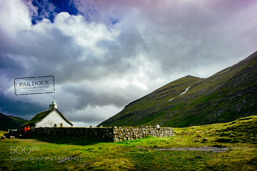 The church in Saksun - Faroe Islands