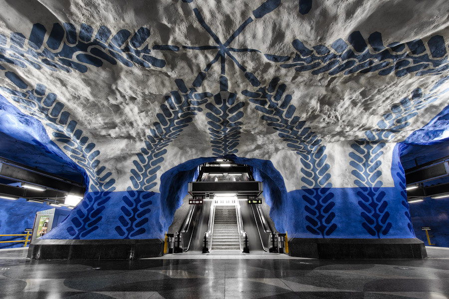 T-Centralen, symmetric edition by Alexander Dragunov on 500px.com
