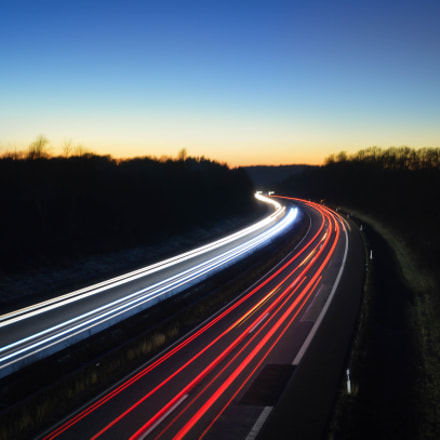 Long Exposure Autobahn.