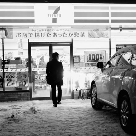 Year-end convenience store, Sony ILCE-6000, Sony E 24mm F1.8 ZA