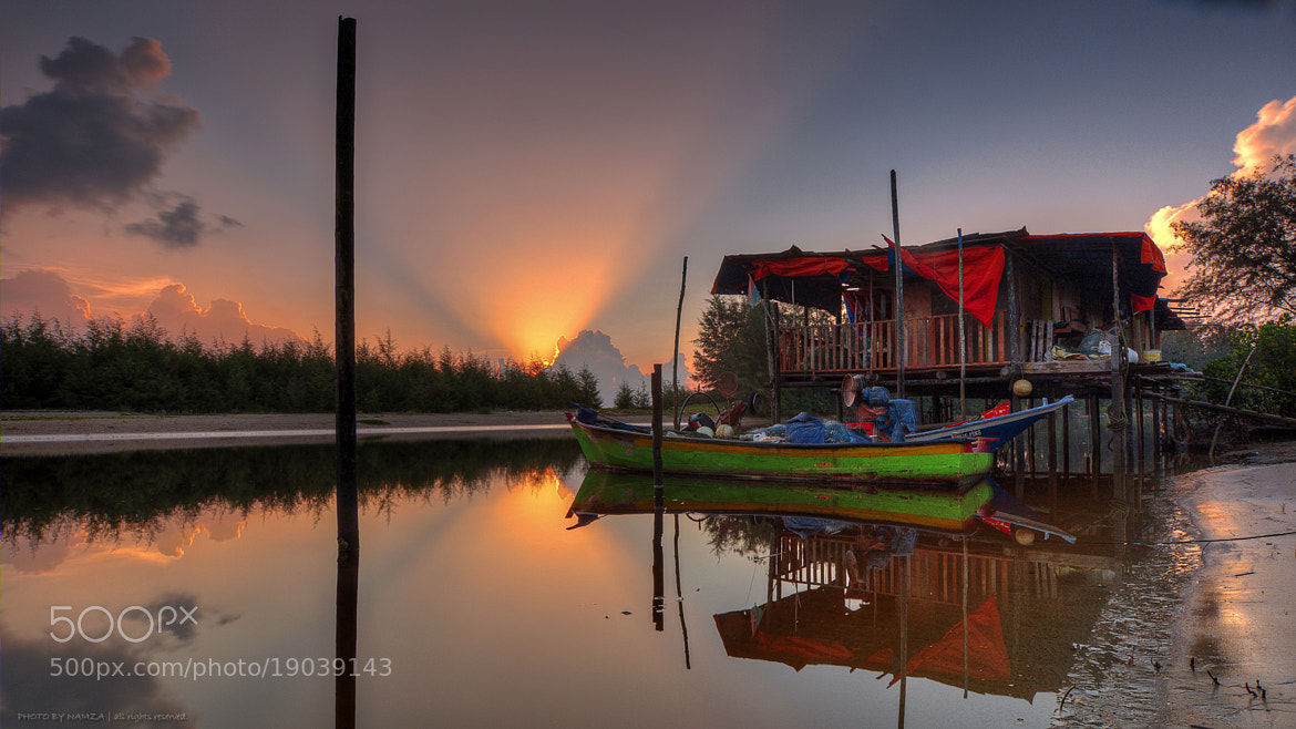 Photograph Sunrise at Cherating by Azman Othman on 500px