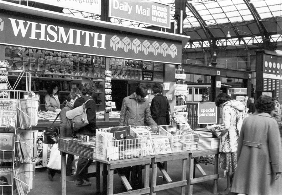 Brighton Station 1980 by Richard Keeling on 500px.com