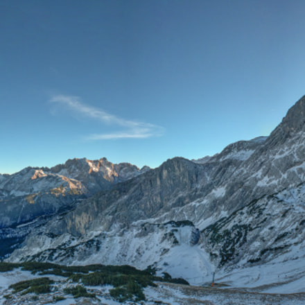 Panoramic View of the Alpspitze