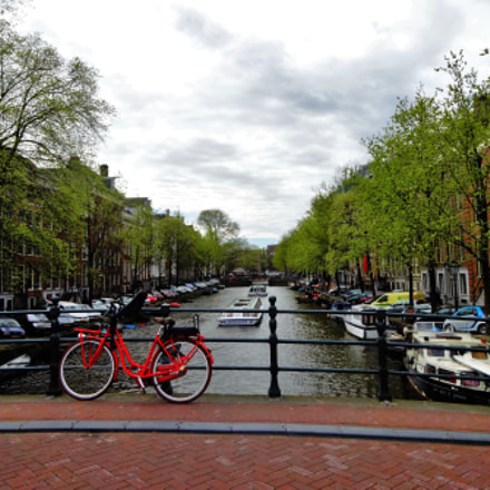 Amsterdam Canals, Sony DSC-WX300