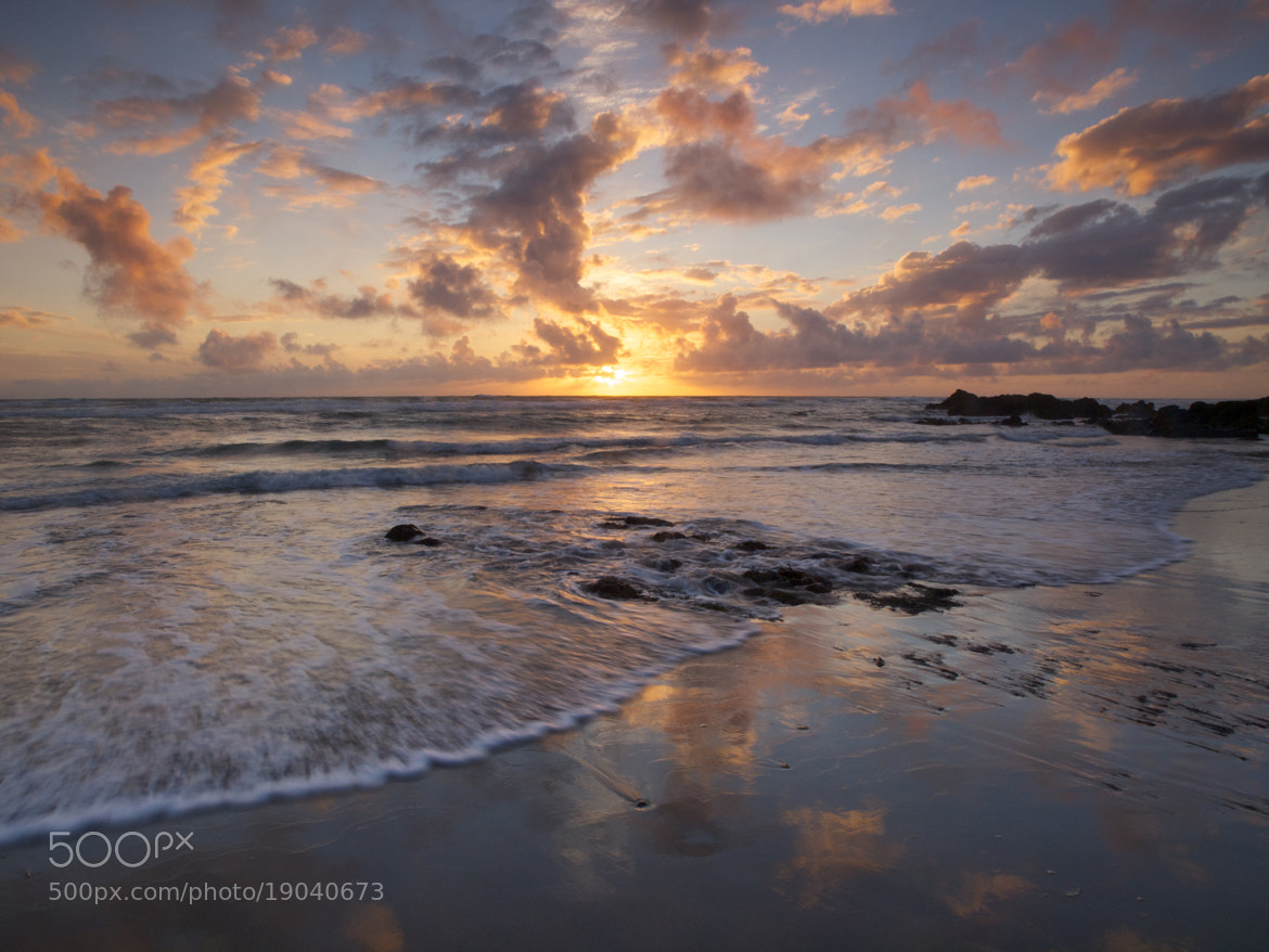 Photograph Sandymouth sunset by Jon Sketchley on 500px