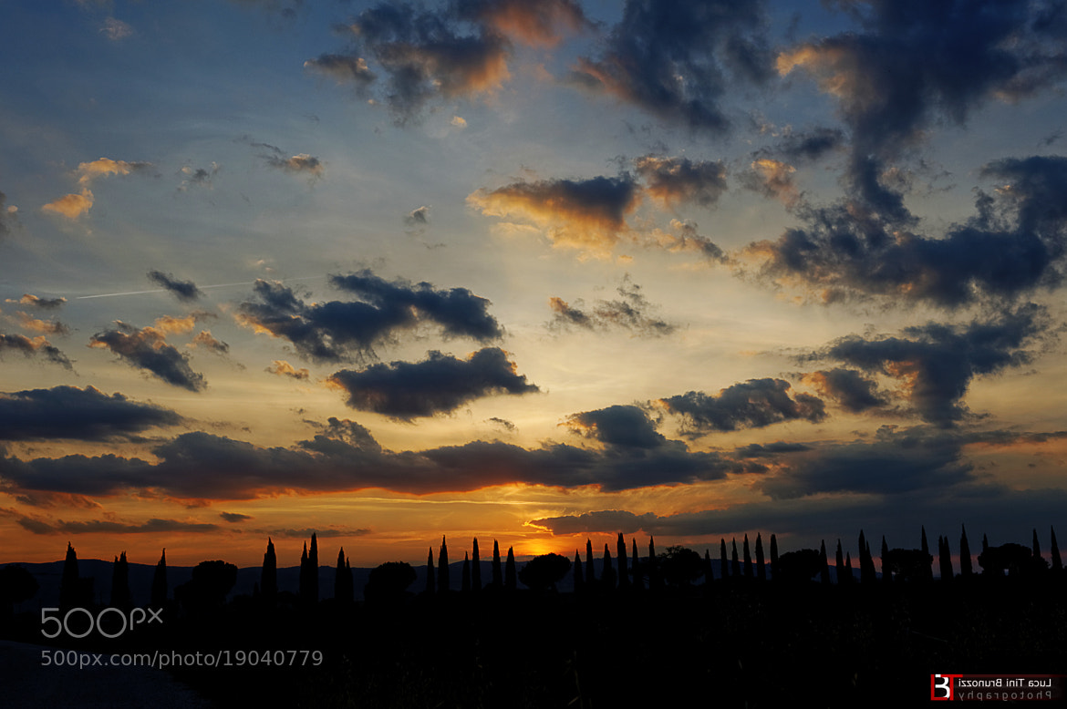 Photograph TRAMONTO by Luca Tini Brunozzi on 500px