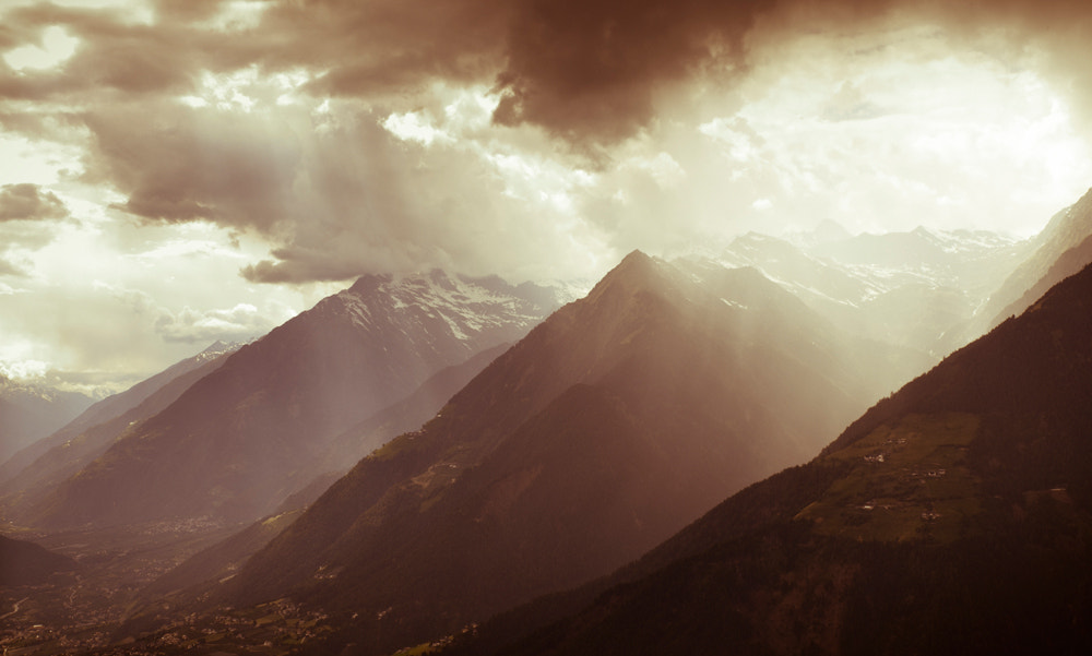 Photograph Storm in the Alps by Anita Stizzoli on 500px