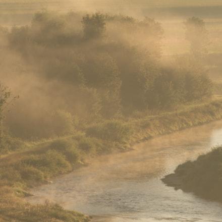 Sunrise at the Danube River