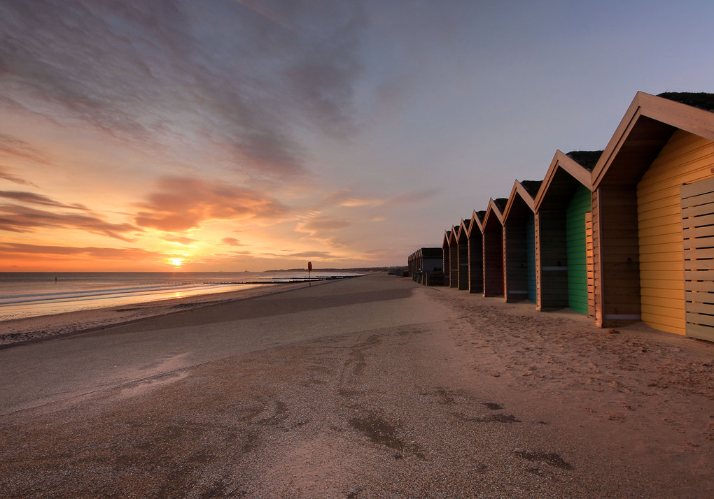 Photograph Blyth Beach Huts by Tom Lowe on 500px