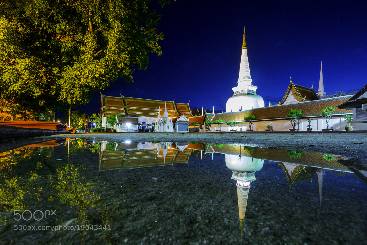 Photograph Temple Reflection II by Suppalak Klabdee on 500px