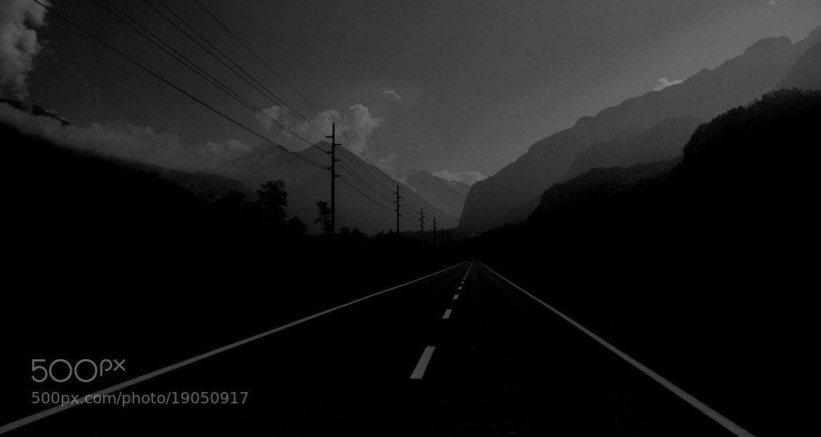 Photograph The Long Alpine by A J R on 500px