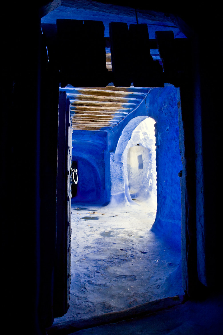 Photograph Chefchaouen Doorway, Morocco by Dorothy Brodsky on 500px