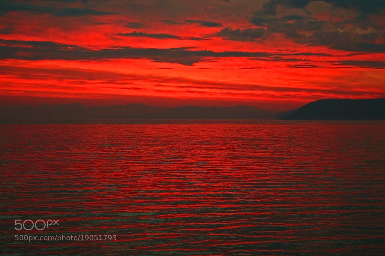 Photograph Baikal, Sunrise by  Catuncia on 500px