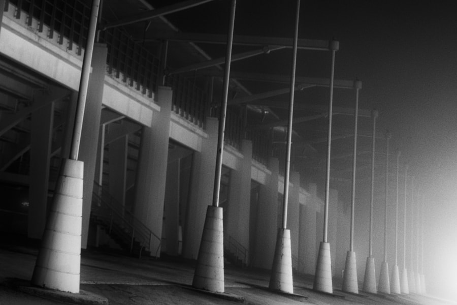 Pillars in the fog by smoisala on 500px.com