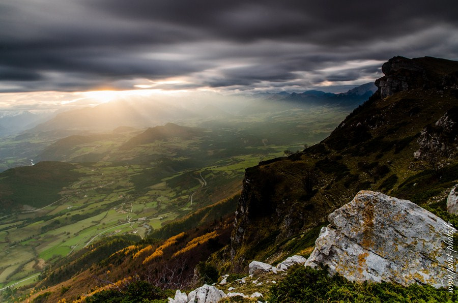 Photograph Sunrise in autumn (Trièves) by Jeremy Chieppa on 500px