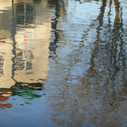Reflections in the Spree, Nikon COOLPIX S3400
