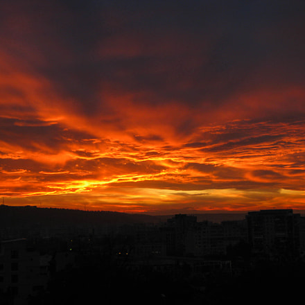 Fire In The Sky, Canon POWERSHOT A480