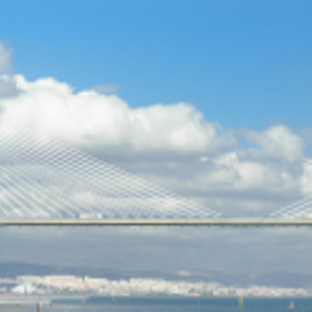Vasco de Gama bridge, Nikon COOLPIX P3