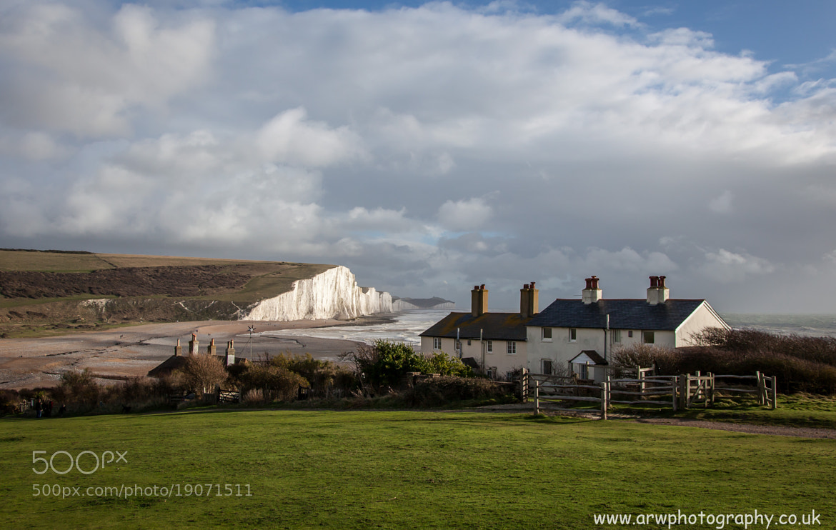 Photograph Coastgaurd Cottages by Andrew Wickens on 500px