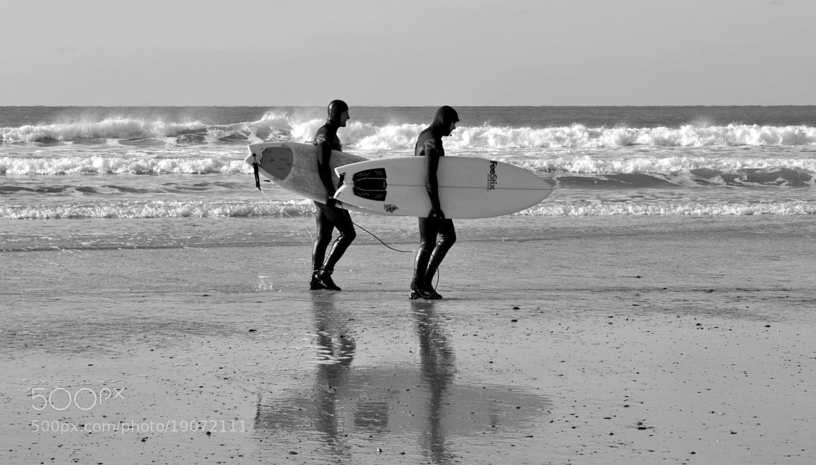 Photograph Surfing twins  by Ilidio Fernandes on 500px