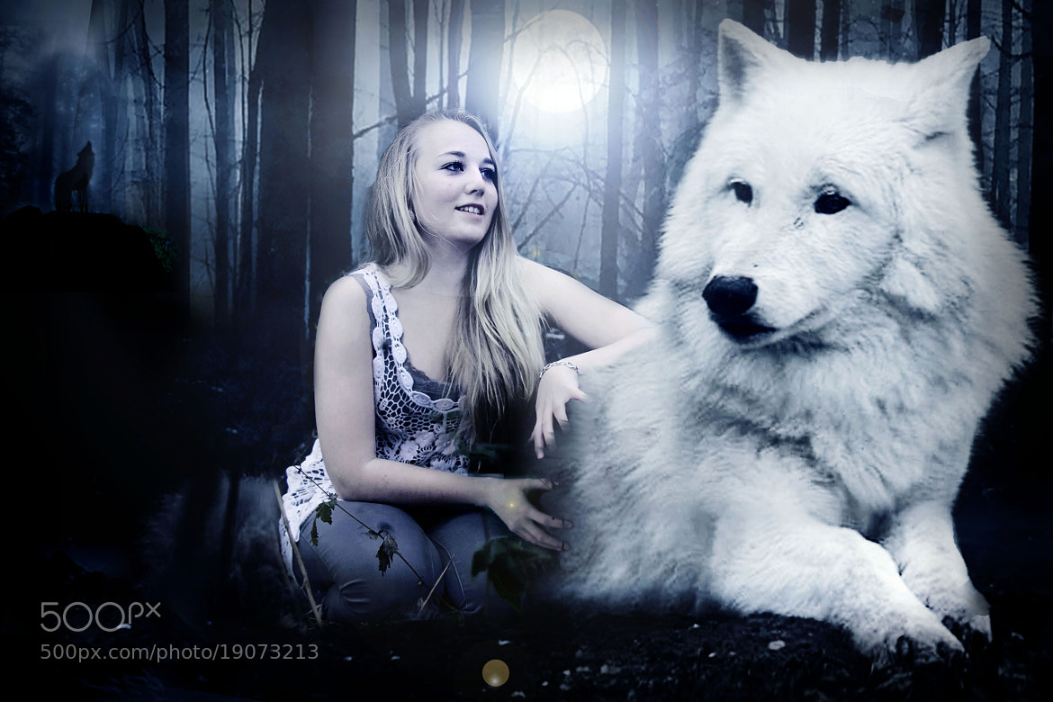 woman and wolf 5