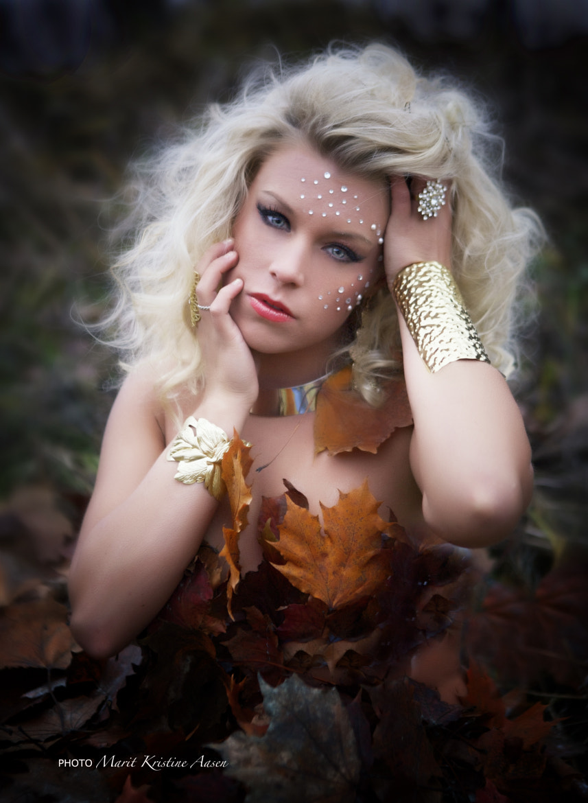 Photograph Lise - Autumn Princess by Marit Kristine Aasen on 500px