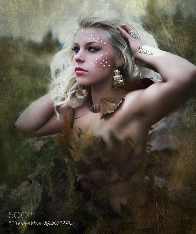 Photograph Lise - Autumn Princess by Marit Kristine Aasen on 500px