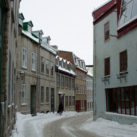 Old Quebec City street, Nikon COOLPIX L1