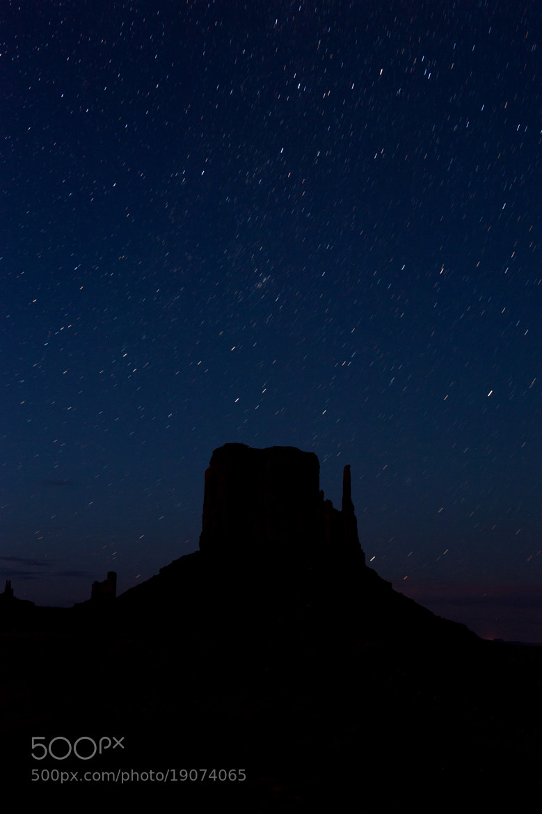 Photograph Stars over Monument Valley by Felix Lamouroux on 500px