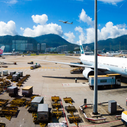 Hong Kong International Airport, Canon EOS-1D X, Canon EF 20-35mm f/2.8L